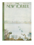 The New Yorker Cover - March 31, 1962 Regular Giclee Print by Ilonka Karasz