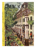 The New Yorker Cover - August 10, 1935 Regular Giclee Print by Arnold Hall
