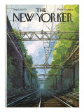 The New Yorker Cover - September 18, 1971 Premium Giclee Print by Arthur Getz