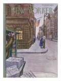 The New Yorker Cover - November 1, 1952 Premium Giclee Print by Arthur Getz
