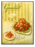 Gourmet Cover - May 1956 Premium Giclee Print by Hilary Knight