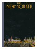 The New Yorker Cover - December 6, 1958 Premium Giclee Print by Abe Birnbaum