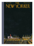 The New Yorker Cover - December 6, 1958 Premium Giclee Print by Abe Birnbaum