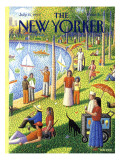 The New Yorker Cover - July 15, 1991 Premium Giclee Print by Bob Knox