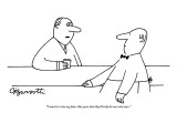 """I want to vote my fears this year, but they'll only let me vote once."" - New Yorker Cartoon Premium Giclee Print by Charles Barsotti"