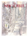 The New Yorker Cover - March 21, 1988 Premium Giclee Print by Jean-Jacques Semp&#233;