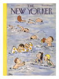 The New Yorker Cover - July 13, 1957 Regular Giclee Print by William Steig