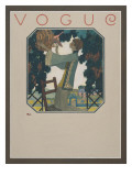 Vogue - September 1922 Premium Giclee Print by Leslie Saalburg