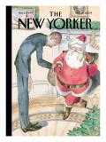 Season's Greetings - The New Yorker Cover, December 14, 2009 Regular Giclee Print by Barry Blitt
