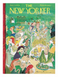 The New Yorker Cover - June 11, 1960 Regular Giclee Print by Ludwig Bemelmans