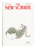 The New Yorker Cover - December 14, 1981 Premium Giclee Print by Arnie Levin