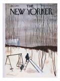 The New Yorker Cover - January 5, 1963 Regular Giclee Print by James Stevenson