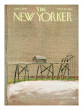 The New Yorker Cover - June 11, 1966 Premium Giclee Print by Andre Francois