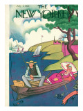 The New Yorker Cover - July 7, 1928 Premium Giclee Print by Julian de Miskey