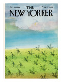 The New Yorker Cover - October 15, 1966 Premium Giclee Print by Saul Steinberg