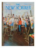 The New Yorker Cover - May 2, 1970 Premium Giclee Print by Arthur Getz