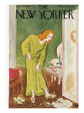 The New Yorker Cover - January 26, 1946 Premium Giclee Print by Julian de Miskey