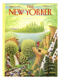 The New Yorker Cover - September 17, 1990 Regular Giclee Print by Bob Knox