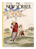 The New Yorker Cover - June 6, 1936 Premium Giclee Print by Constantin Alajalov