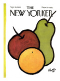 The New Yorker Cover - September 26, 1964 Premium Giclee Print by Abe Birnbaum