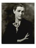 Vanity Fair - August 1934 Regular Photographic Print by Arnold Genthe
