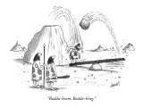 """Badda-boom, Badda-bing."" - New Yorker Cartoon Premium Giclee Print by Tom Cheney"