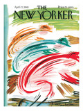 The New Yorker Cover - April 22, 1961 Regular Giclee Print by Abe Birnbaum