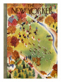The New Yorker Cover - October 22, 1938 Premium Giclee Print by Roger Duvoisin