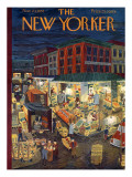 The New Yorker Cover - November 23, 1957 Premium Giclee Print by Ilonka Karasz