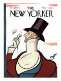 The New Yorker Cover - February 23, 1976 Premium Giclee Print by Rea Irvin