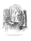 """""""We've given up our Paris office. Madame thought she was spreading herself …"""" - New Yorker Cartoon Premium Giclee Print by Barbara Shermund"""