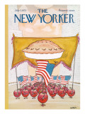 The New Yorker Cover - July 7, 1975 Regular Giclee Print by Robert Weber