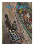 The New Yorker Cover - June 9, 1945 Premium Giclee Print by Abe Birnbaum