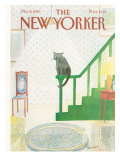 The New Yorker Cover - December 8, 1980 Premium Giclee Print by Jean-Jacques Sempé