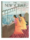 The New Yorker Cover - July 22, 1961 Regular Giclee Print by Anatol Kovarsky