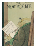 The New Yorker Cover - March 9, 1935 Regular Giclee Print by Rea Irvin