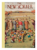 The New Yorker Cover - October 17, 1936 Premium Giclee Print by William Steig