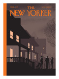 The New Yorker Cover - November 2, 2009 Premium Giclee Print by Chris Ware