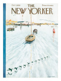 The New Yorker Cover - October 7, 1950 Premium Giclee Print by Garrett Price