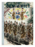 The New Yorker Cover - November 7, 1942 Premium Giclee Print by Leonard Dove