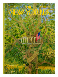The New Yorker Cover - July 3, 1971 Premium Giclee Print by Ilonka Karasz