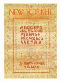 The New Yorker Cover - September 10, 1973 Regular Giclee Print by James Stevenson