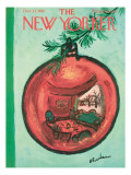 The New Yorker Cover - December 23, 1961 Premium Giclee Print by Abe Birnbaum