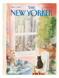The New Yorker Cover - March 1, 1982 Premium Giclee Print by Jean-Jacques Semp&#233;