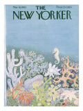 The New Yorker Cover - March 16, 1963 Premium Giclee Print by Ilonka Karasz