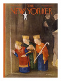 The New Yorker Cover - December 22, 1951 Premium Giclee Print by William Cotton