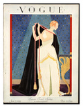 Vogue Cover - June 1924 Regular Giclee Print by George Wolfe Plank
