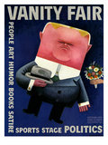 Vanity Fair Cover - October 1931 Premium Giclee Print by Miguel Covarrubias