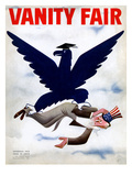 Vanity Fair Cover - September 1934 Premium Giclee Print by  Garretto