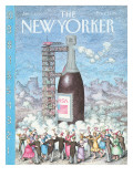 The New Yorker Cover - January 1, 1990 Regular Giclee Print by John O'brien